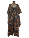 Womens Hippie Caftan Maxi Dress