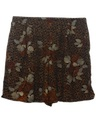 Womens Wicked 90s Animal Print Wide Leg Shorts
