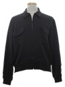 Mens Rockabilly Gabardine Zip Jacket