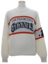 Mens Baseball Pullover Sweater
