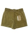 Womens Suede Hot Pants Leather Shorts