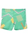 Mens Totally 80s Board Swim Shorts