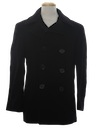 Mens Pea Coat Jacket