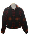 Mens Wool Hunting Style Jacket Coat