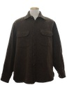 Mens Wool CPO Style Shirt Jacket