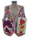 Womens Patchwork Quilt Vest