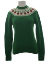 Womens Totally 80s Wool Sweater