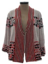 Womens Hippie Style Cardigan Sweater