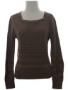 Womens Sweater Knit Shirt