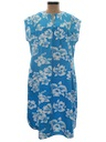 Womens Hawaiian Muu Muu Dress