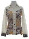 Womens Western Style Hippie Shirt