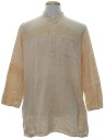 Mens Hippie Tunic Shirt