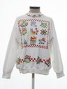 Womens Country Kitsch Ugly Christmas Vintage Sweatshirt