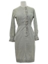 Womens Mod Secretary Dress