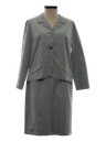 Womens Secretary Jacket & Skirt Suit