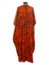 Womens Hawaiian MuuMuu Dress