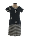Womens Hippie Tunic Dress