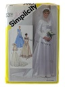 Womens Totally 80s Bridal or Wedding Pattern