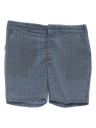 Mens Mod Plaid Saturday Shorts