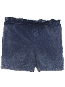 Womens Acid Washed Shorts