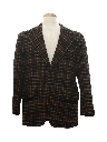 Mens Wool Blazer Sport Coat Jacket