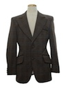 Mens Disco Style Blazer Sport Coat Jacket