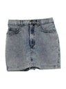 Womens Totally 80s Acid Washed Skirt Shorts