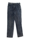 Womens Totally 80s Acid Washed Jeans Pants