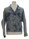 Mens Totally 80s Levis Acid Wash Denim Jacket