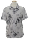 Mens Totally 80s Dragon shirt