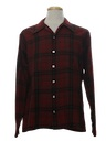 Mens Wool Board Sport Shirt
