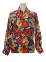 Mens Hippie Style Disco Shirt