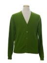 Mens Golf Cardigan Sweater