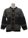 Womens Nordic Wool Ski Sweater
