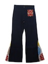 Mens Mod Elephant Bellbottom Jeans Pants