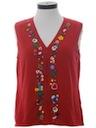 Unisex Ugly Christmas Sweatshirt Vest