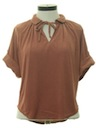 Womens Totally 80s Terry Cloth Shirt