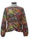 Womens Butterfly Hippie Photo Print Print Shirt