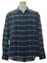 Mens Totally 80s Plaid Shirt