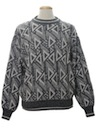Mens Designer Totally 80s Cosby Style Sweater