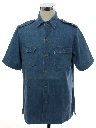 Mens Safari Style Sport Shirt