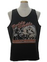 Unisex Harley Muscle Tank Top Motorcycle T-Shirt
