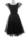 Womens New Look Little Black Cocktail Dress