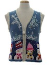 Womens/Girls Ugly Christmas Sweater Vest