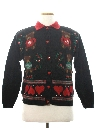 Womens Bear-riffic Country Kitsch Ugly Christmas Sweater