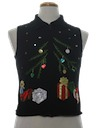 Womens Ugly Christmas Sweatshirt Vest