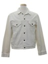 Mens Levis White Denim Jacket