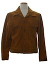 Mens Suede Leather Hippie Style Jacket