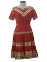 Womens Western Style Square DanceDress