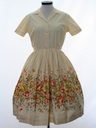 Womens Fab Fifties Day Dress